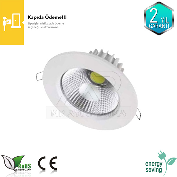 10 Watt COB Ledli Downlight