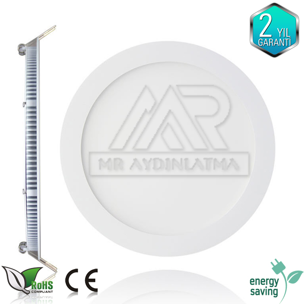 Delik çapı 22 cm 20 watt led panel